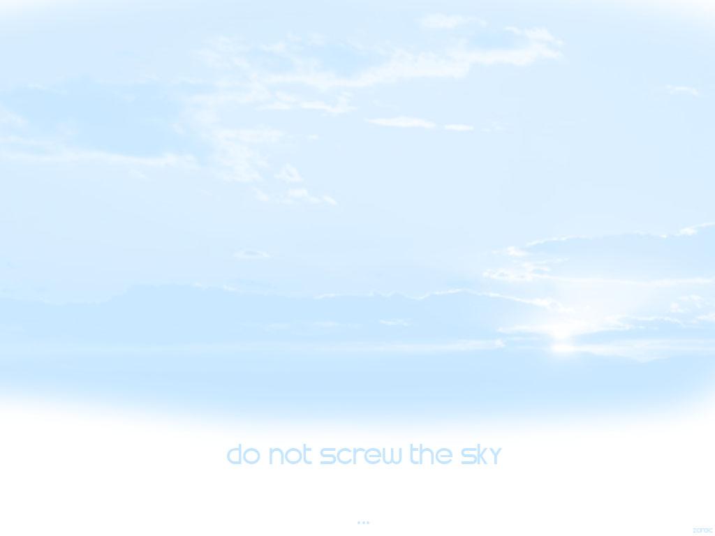 但是太小了,又没法放大,所以干脆画上了大片的蓝天白云 .
